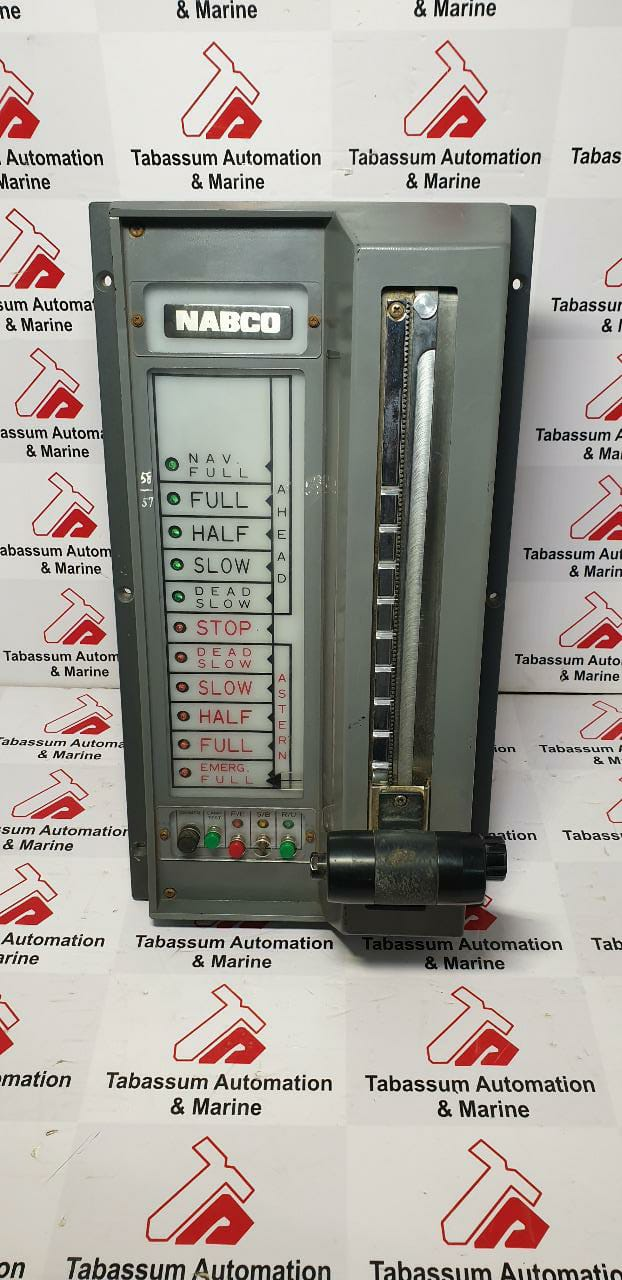 NABCO MT-800-2 M/E ORDER REVOLUTION P221P3C MAIN ENGINE MT8002