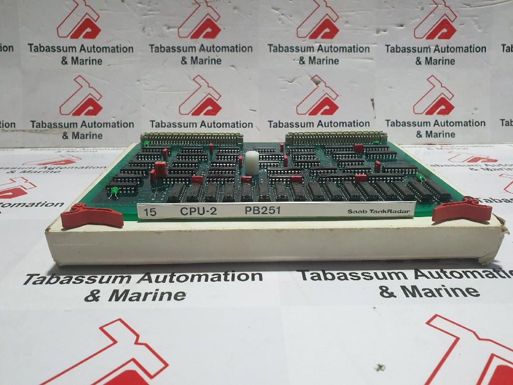SAAB CPU-2 9150023-531 PB251 SAAB 9150023-002K PB251 CPU BOARD